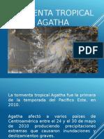 Tormenta Tropical Agatha