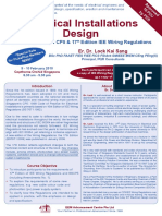 Electrical Installations Design Course (Singapore)