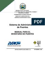 SAP - Manual Para Inventario de Puentes R3