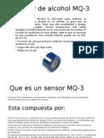 Sensor de Alcohol MQ-3