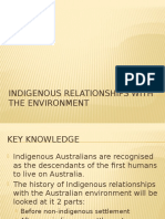 indigenous relationships with the environment