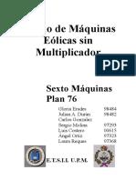 Diseño Maquinas Eolicas Sin Multiplicador Etsiim Industriales.pdf