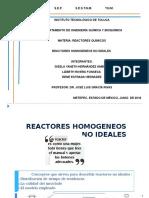 Reactores No Ideales