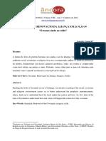 Anúncio de Renovação Da Aliança Em Jr 31,31-34
