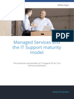 HTL White Paper Managed Services and the IT Support Maturity Model