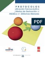 Protocolos de Indicacion Farmaceutica