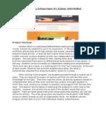 multimedia critique paper 1