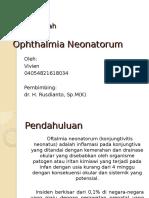 Oftalmia Neonatorum (Vivien)