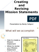 Caligiuri Mission Statement