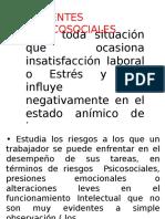 4.- Agentes psicosociales