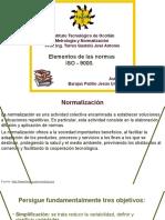 UNIDAD 1. Elementos de Las Normas ISO - 9000