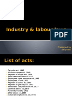 Industry & Labour Laws