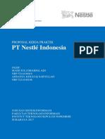 Proposal Kerja Praktik PT Nestle Indonesia