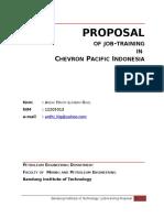 Proposal KP Chevron Ardhi.doc