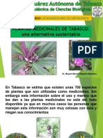 Plantas Medicinales de Tabasco PRIMER CONGRESO LATINOAMERICANO DE NATUROPATIA 2016