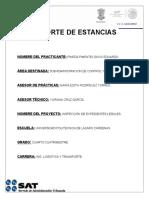 Reporte Para Estancia SAT