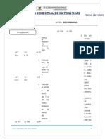 Examen Semestral II 1º de Secundaria 1 Resuelto