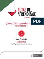Documentos Secundaria Matematica-VI