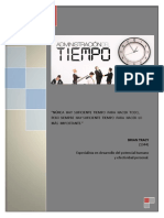 Manual Administración Del Tiempo