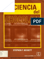Ciencia Del Chocolate - Stephen T. Beckett