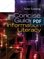 Scott Lanning Concise Guide to Information Literacy (1)