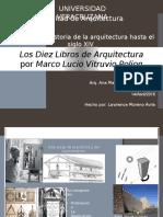 VITRUBIO Los Diez Libros de Arquitectura