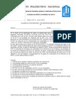 Examen Extraordinario a y b de Generadores de Vapor Julio,2015