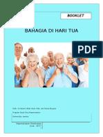 Booklet Edukasi Lansia