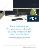 Back to the Future the Advantages of Hosted Desktop Computing for Financial Sector Firms (2)