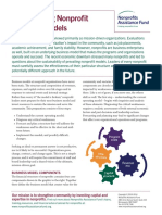 Transforming Nonprofit Business Models 2014