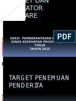 04. Target Dan Indikator Diare 2015