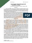 Scm Research Paper