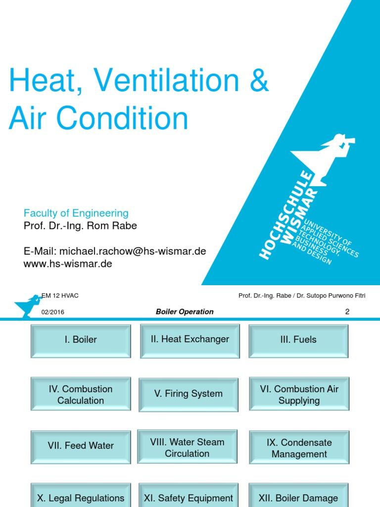 HVAC 14 Boiler Operation | Boiler | Hvac