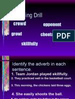 Comparison of Adverb