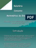 Escola Básica e Secundária Gonçalves Zarco-Relatório