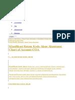 Kode AKUN Pada Akuntansi RS