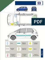 Cartea de Salvare Auto Daewoo Matiz