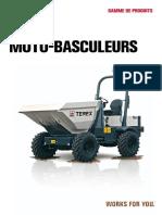 Brochure Motobasculeurs Terex