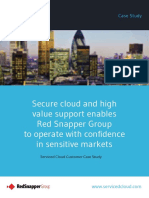 Secure cloud and high value support enables Red Snapper Group to operate with confidence in sensitive markets