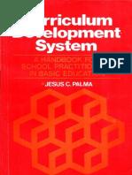 Curriculum Development System - Jesus C. Palma