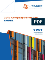 2017 Company Formation in Romania