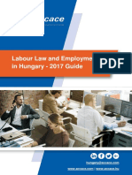 Labour Law and Employment in Hungary - 2017 Guide
