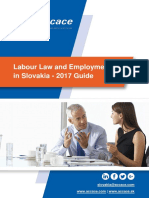 Labour Law and Employment in Slovakia - 2017 Guide