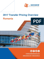 2017 Transfer Pricing for Romania