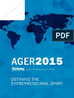Amway Global Entrepreneurship Report 2015 Online