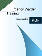 Emergency Warden Training for AD