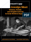 Bernard Capp-When Gossips Meet_ Women, Family, And Neighbourhood in Early Modern England (Oxford Studies in Social History) (2004)