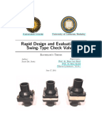 Rapid Design and Evalution of Check Valve