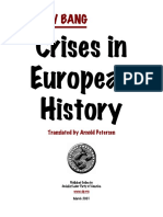 Crises in European History - Gustav Bang