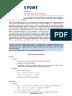 Test Paper Analysis 2015